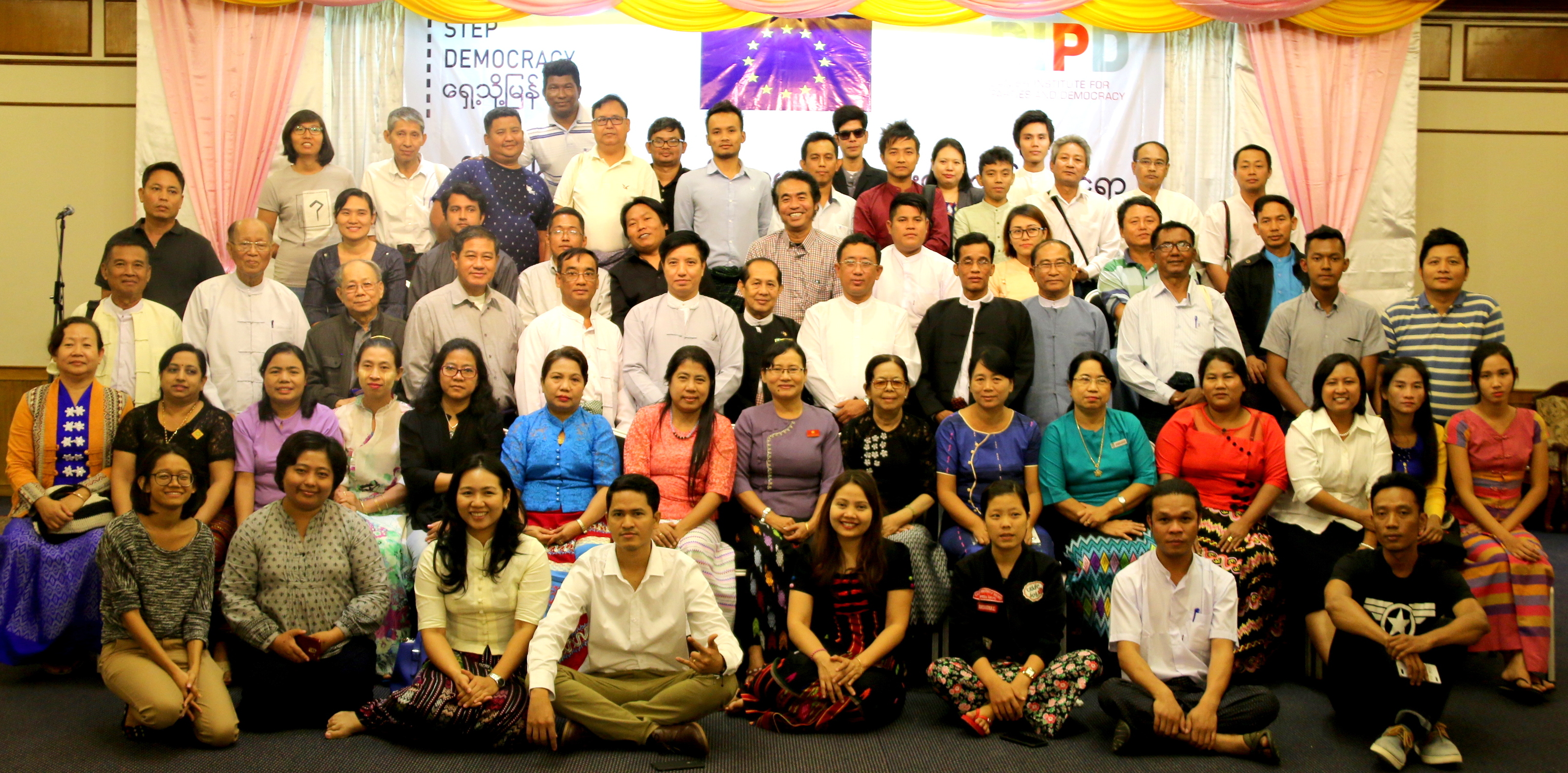 Group Photo of Multi-Stakeholders Dialogue on the new draft YCDC Law. (Photo – DIPD)