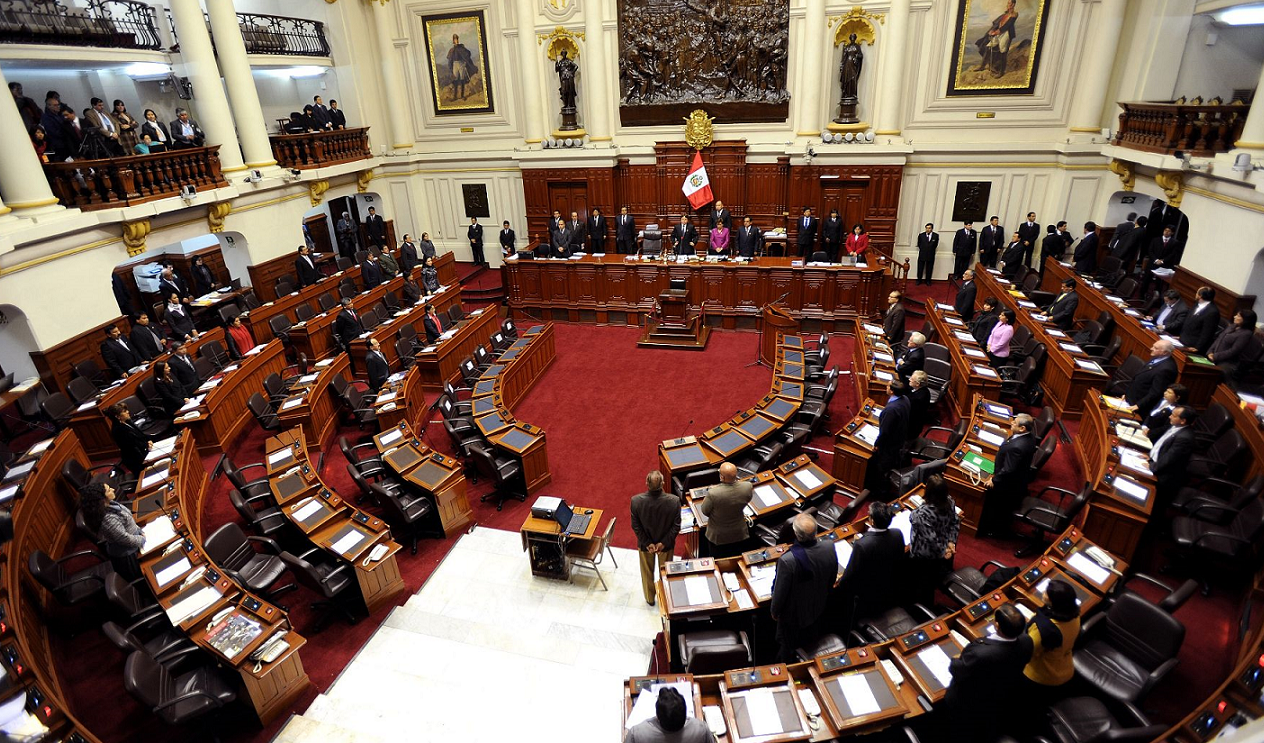 Plenary Session of the Peruvian Congress of the Republic. Photo credit: Andina/CDR