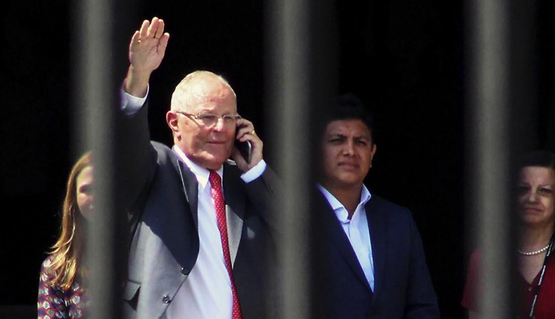 El Presidente Pedro Pablo Kuczynski renuncia a su cargo. Foto: Gestión.
