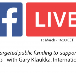 Facebook Live Q&A on gender-targeted public funding to support women in politics