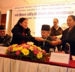 Launch of Women's Rights and Agenda to be incorporated in the New Constitution