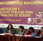 International IDEA Participates at the National Meeting on Planning and Public Policies for Gender Equality, which took place in La Paz, Bolivia on 29-30 June 2017. Photo credit: International IDEA