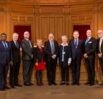 High level panel at the Swedish Riksdag, 30 November 2017. Image:Melker Dahlstrand/Swedish Parliament.