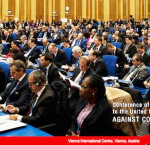 The Seventh Session of the Conference of State Parties to the United Nations Convention against Corruption (UNCAC) takes place in Vienna 6-10 November 2017. Photo credit: UNODC.