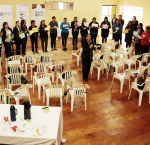 Workshop participants learn about international principles and best practices to strengthen women´s political rights and gender equality. Photo Credit: Superior Electoral Tribunal of Paraguay.