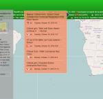 Screenshot of the CEWS' Live Monitor; Source: CEWS