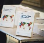 The Global State of Democracy Publication (Stuudio Huusmann / International IDEA).