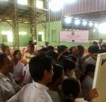 Training of election officials of village-tracts and wards in the township of Kawmhu. The seat of Kawmhu township in the Pyithu Hluttaw (House of Representatives) was won in 2015 by Daw Aung San Suu Kyi, who then became Foreign Minister and State Counselor in the new government.