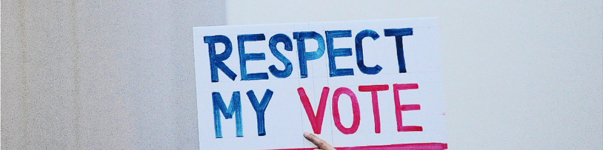 """Respect My Vote"" rally at the Bangkok Arts and Cultural Centre. Photo Credit: Adaptor- Plug Flickr"